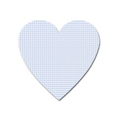 Alice Blue Hearts In An English Country Garden Heart Magnet by PodArtist
