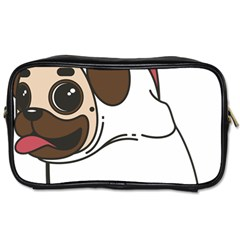Pug Unicorn Dog Animal Puppy Toiletries Bags by Sapixe