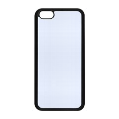 Alice Blue Houndstooth In English Country Garden Apple Iphone 5c Seamless Case (black) by PodArtist