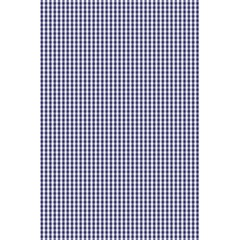 Usa Flag Blue And White Gingham Checked 5 5  X 8 5  Notebooks by PodArtist
