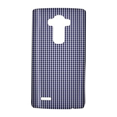 Usa Flag Blue And White Gingham Checked Lg G4 Hardshell Case by PodArtist