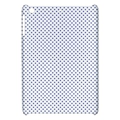 Usa Flag Blue Stars On White Apple Ipad Mini Hardshell Case by PodArtist