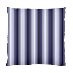Usa Flag Blue And White Stripes Standard Cushion Case (two Sides) by PodArtist