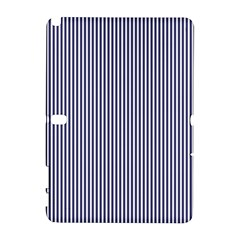 Usa Flag Blue And White Stripes Galaxy Note 1