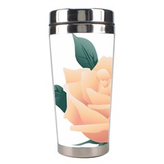 Rose Flower Nature Floral Summer Stainless Steel Travel Tumblers by Sapixe