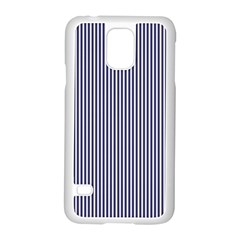 Usa Flag Blue And White Stripes Samsung Galaxy S5 Case (white)