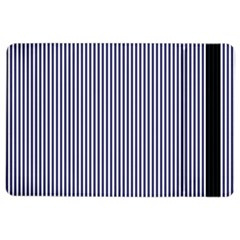 Usa Flag Blue And White Stripes Ipad Air 2 Flip by PodArtist