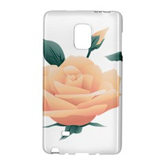Rose Flower Nature Floral Summer Galaxy Note Edge by Sapixe