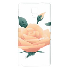 Rose Flower Nature Floral Summer Galaxy Note 4 Back Case by Sapixe