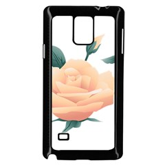 Rose Flower Nature Floral Summer Samsung Galaxy Note 4 Case (black) by Sapixe