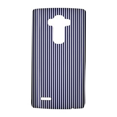 Usa Flag Blue And White Stripes Lg G4 Hardshell Case by PodArtist