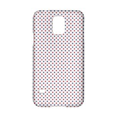 Usa Flag Red And Flag Blue Stars Samsung Galaxy S5 Hardshell Case  by PodArtist