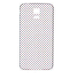 Usa Flag Red And Flag Blue Stars Samsung Galaxy S5 Back Case (white) by PodArtist