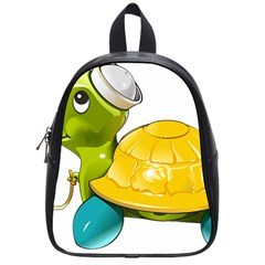 Turtle Sea Turtle Leatherback Turtle School Bag (small) by Sapixe