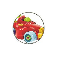 Car Vehicle Racing Car Formula Hat Clip Ball Marker