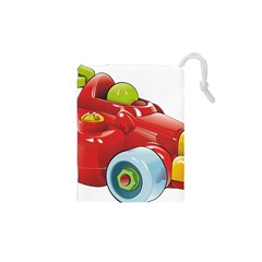 Car Vehicle Racing Car Formula Drawstring Pouches (xs)  by Sapixe