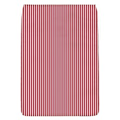 Usa Flag Red And White Stripes Flap Covers (l)  by PodArtist