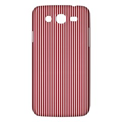 Usa Flag Red And White Stripes Samsung Galaxy Mega 5 8 I9152 Hardshell Case  by PodArtist