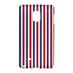 Usa Flag Red White And Flag Blue Wide Stripes Galaxy Note Edge by PodArtist