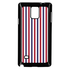 Usa Flag Red White And Flag Blue Wide Stripes Samsung Galaxy Note 4 Case (black) by PodArtist