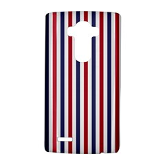 Usa Flag Red White And Flag Blue Wide Stripes Lg G4 Hardshell Case by PodArtist