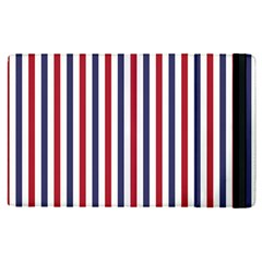 Usa Flag Red White And Flag Blue Wide Stripes Apple Ipad Pro 12 9   Flip Case by PodArtist