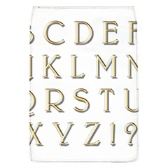 Letters Gold Classic Alphabet Flap Covers (l)  by Sapixe