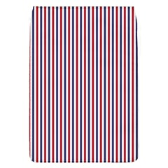 Usa Flag Red And Flag Blue Narrow Thin Stripes  Flap Covers (l)  by PodArtist