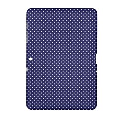 Usa Flag White Stars On Flag Blue Samsung Galaxy Tab 2 (10 1 ) P5100 Hardshell Case  by PodArtist