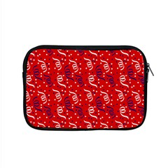 Red White And Blue Usa/uk/france Colored Party Streamers Apple Macbook Pro 15  Zipper Case by PodArtist