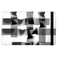 Geometry Square Black And White Apple Ipad 3/4 Flip Case by Sapixe