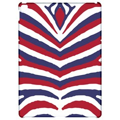 Us United States Red White And Blue American Zebra Strip Apple Ipad Pro 12 9   Hardshell Case by PodArtist