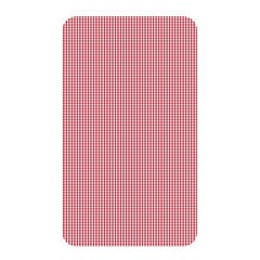 Usa Flag Red Blood Mini Gingham Check Memory Card Reader by PodArtist