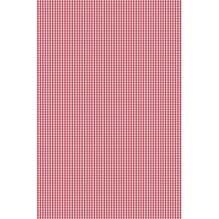 Usa Flag Red Blood Mini Gingham Check 5 5  X 8 5  Notebooks by PodArtist