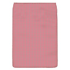 Usa Flag Red Blood Mini Gingham Check Flap Covers (l)  by PodArtist