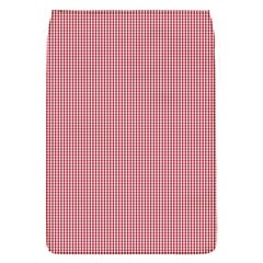Usa Flag Red Blood Mini Gingham Check Flap Covers (s)  by PodArtist