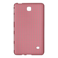 Usa Flag Red Blood Mini Gingham Check Samsung Galaxy Tab 4 (8 ) Hardshell Case  by PodArtist