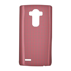 Usa Flag Red Blood Mini Gingham Check Lg G4 Hardshell Case by PodArtist