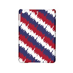 Ny Usa Candy Cane Skyline In Red White & Blue Ipad Mini 2 Hardshell Cases by PodArtist