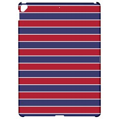 Large Red White And Blue Usa Memorial Day Holiday Pinstripe Apple Ipad Pro 12 9   Hardshell Case by PodArtist