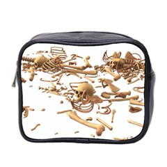Skull Bone Skeleton Bones Mini Toiletries Bag 2 Side