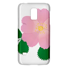 Rose Flower Briar Pink Flowers Galaxy S5 Mini
