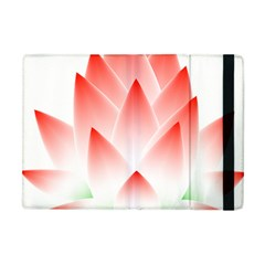 Lotus Flower Blossom Abstract Apple Ipad Mini Flip Case by Sapixe