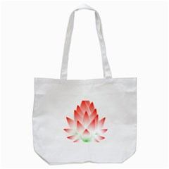 Lotus Flower Blossom Abstract Tote Bag (white) by Sapixe