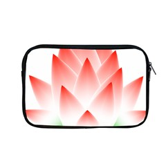 Lotus Flower Blossom Abstract Apple Macbook Pro 13  Zipper Case by Sapixe
