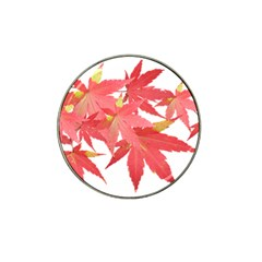 Leaves Maple Branch Autumn Fall Hat Clip Ball Marker (4 Pack)