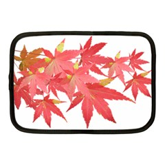 Leaves Maple Branch Autumn Fall Netbook Case (medium)  by Sapixe