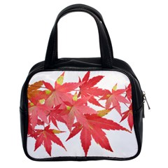 Leaves Maple Branch Autumn Fall Classic Handbags (2 Sides) by Sapixe