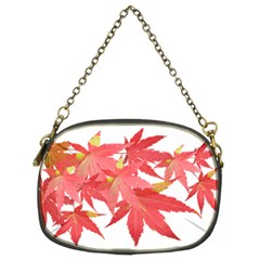 Leaves Maple Branch Autumn Fall Chain Purses (two Sides)