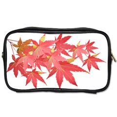 Leaves Maple Branch Autumn Fall Toiletries Bags 2 Side by Sapixe